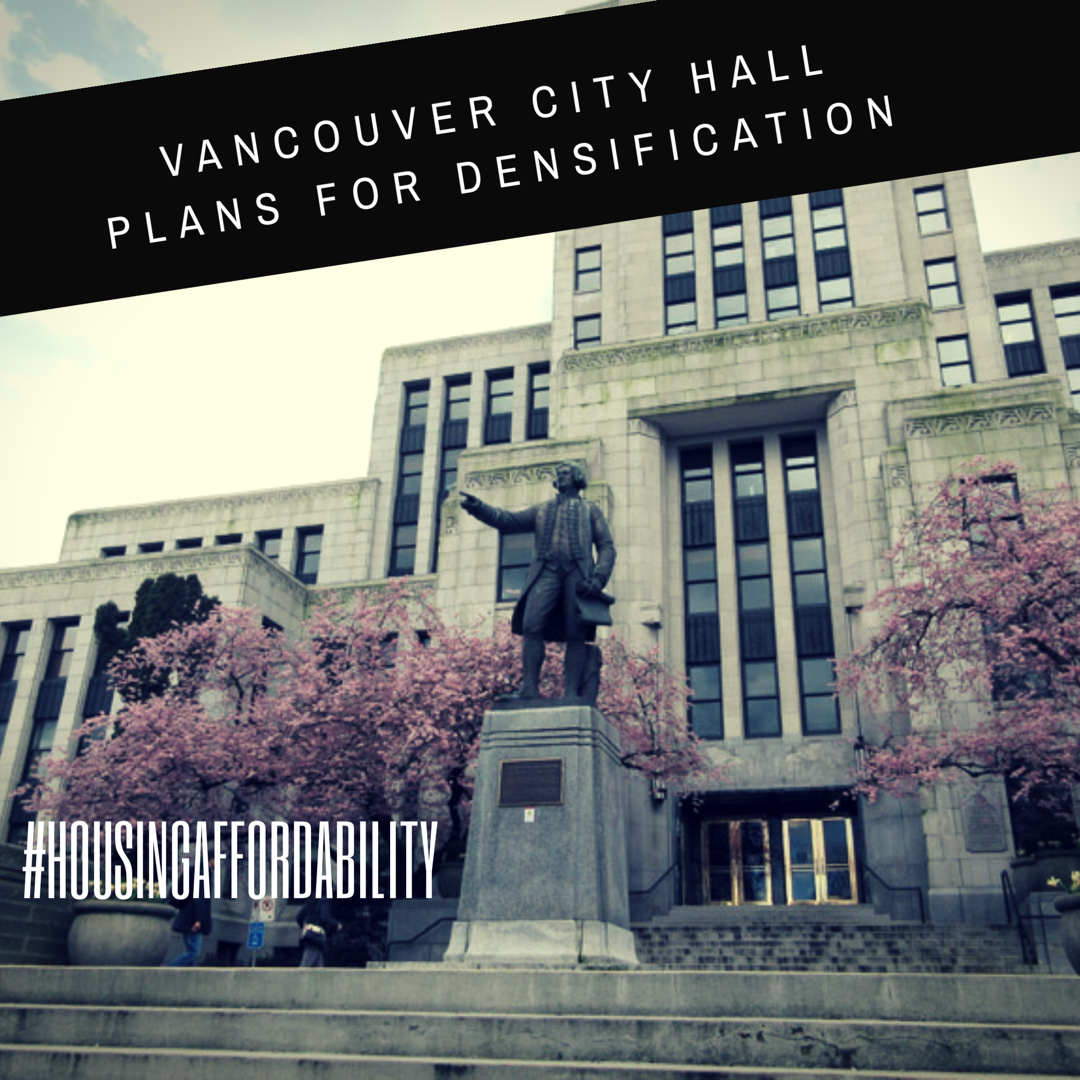 Vancouver City Hall Plans Densification
