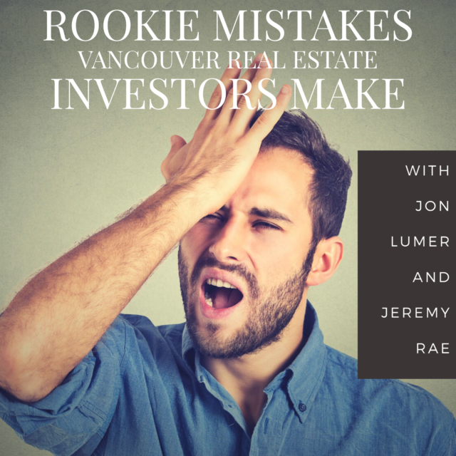 Rookie mistakes investors make