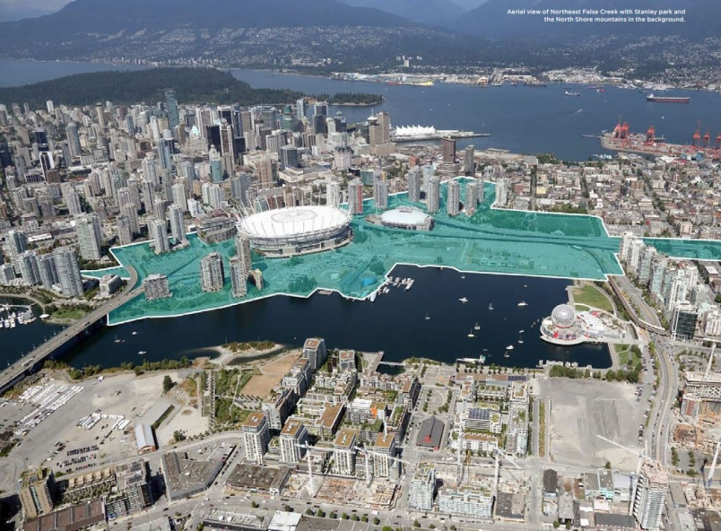 Final Plan For Northeast False Creek Goes Before City Council