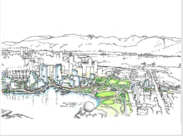 Speakers Mostly Agreeable To Massive Plan For False Creek