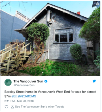 expensive Vancouver real estate