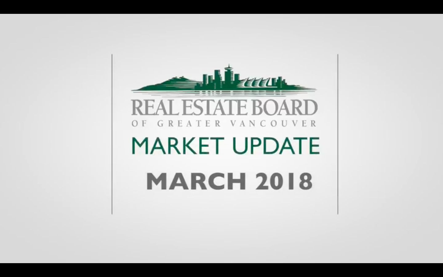 REBGV March 2018 Market Update Video