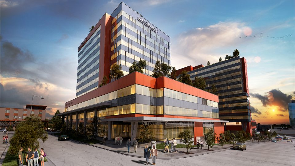 Phase Two Of Surrey Health And Technology District Opens
