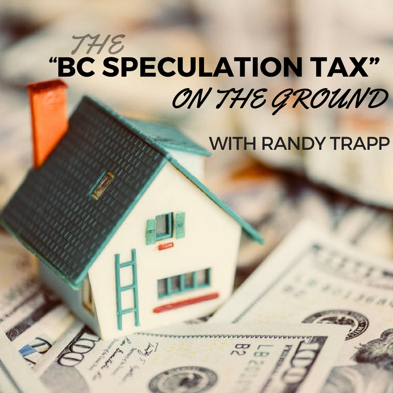 "The ""BC Speculation Tax"" on the Ground"