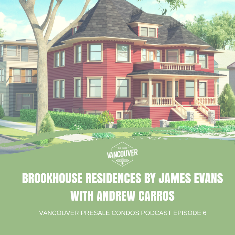 Brookhouse Residences by James Evans with Andrew Carros