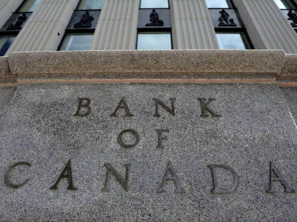 The Bank Of Canada The Bank Of Canada Is Raising Its Conventional Mortgage 5-year Interest Rate From 5.14 To 5.34 Per Cent.Sean Kilpatrick/The Canadian Press