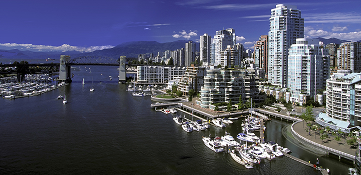 Vancouver Cityscape False Creek