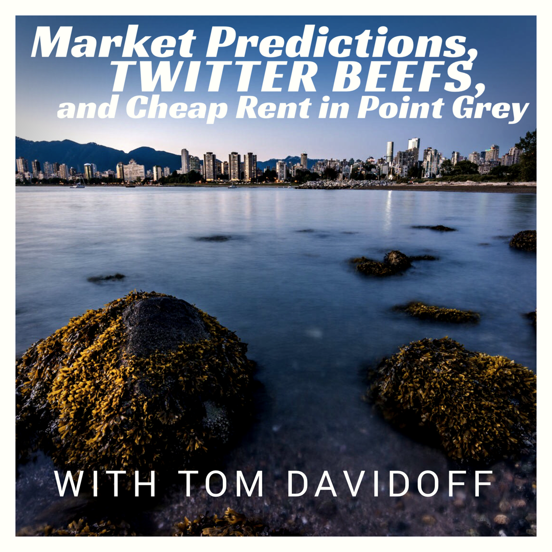 Vancouver Housing Market Predictions With Tom Davidoff