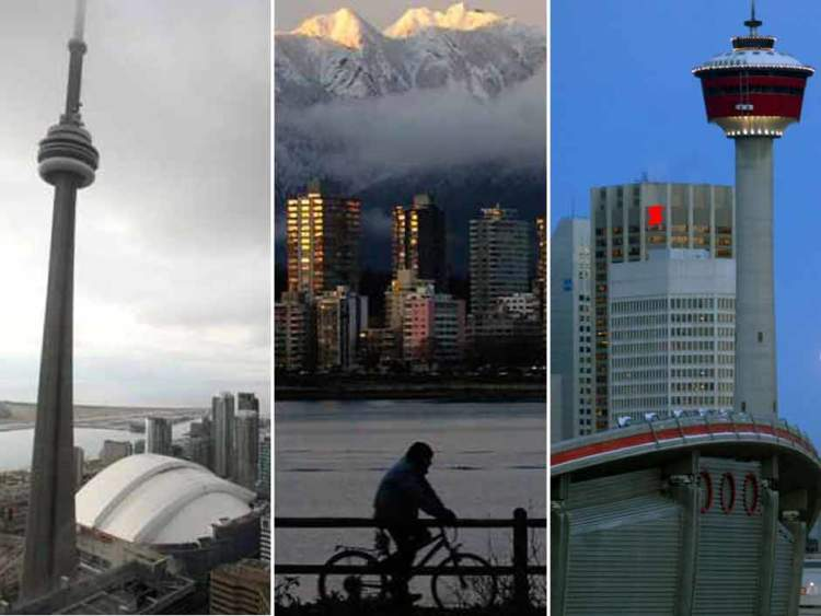 Grosvenor ranks Toronto, Vancouver and Calgary the world's top cities for long-term real estate investment
