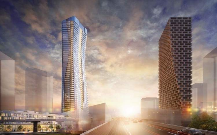 Real Estate Developer files application for 54-storey downtown Vancouver tower
