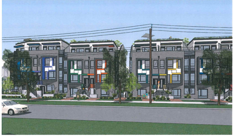 27 Townhouses Proposed For Marpole Site In South Vancouver