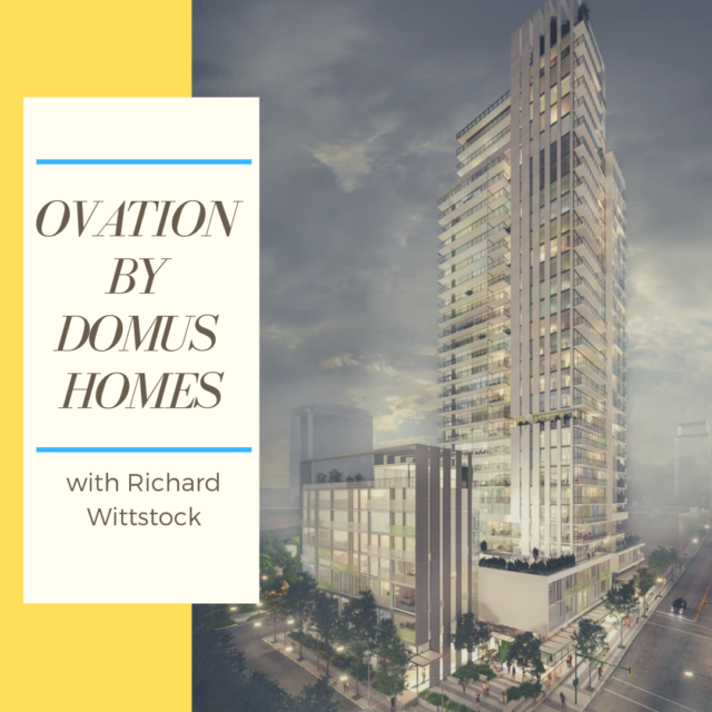 Ovation by Domus Homes with Richard Wittstock