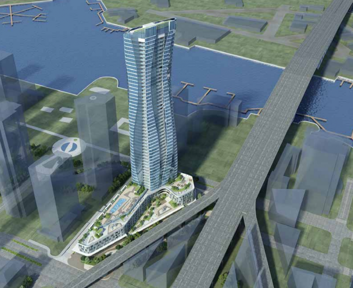 Urban Design Panel Sets Special Review For Curvy 54-storey Vancouver Tower