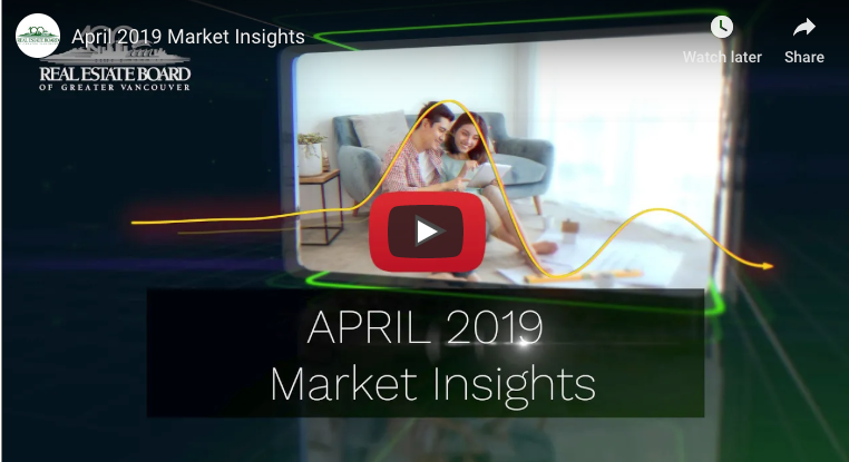 REBGV - April 2019 Market Insights
