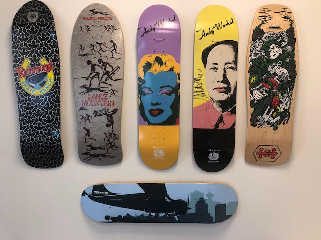 Mark Ting skateboard collect