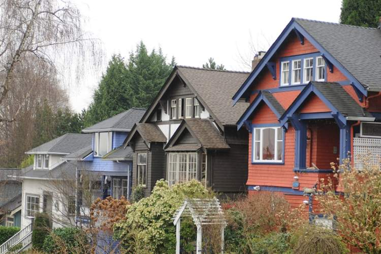 Vancouver's detached housing market