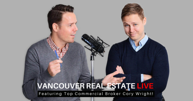 Vancouver Real Estate Live on Youtube video interview title card