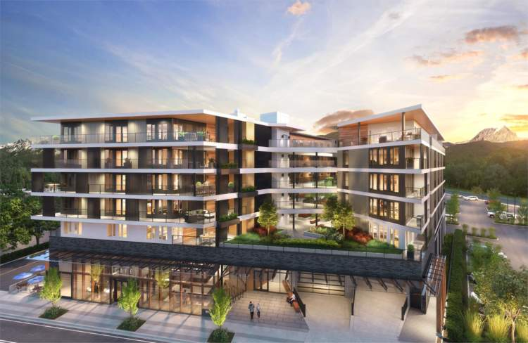 New development in Squamish